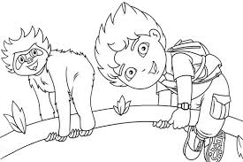 Small Picture Diego coloring pages overview with all kind of free sheets