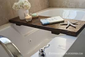 bathtub caddy with kneeling pad ideas