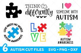 Free puzzle piece clipart, download free clip art, free. Autism Svg Files Bundle For Cricut Autism Puzzle Piece 443559 Cut Files Design Bundles