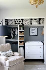 affordable nursery closet storage
