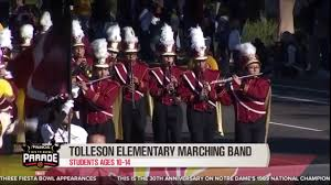 Tolleson Light Parade 2016 Tolleson Elementary School Marching Band Youtube