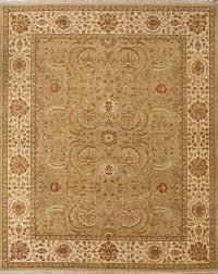 rugsville vegetable dyes wool light green beige rug 10333 10333