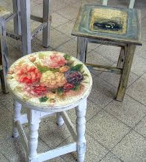 floral decoupage furniture. Découpage Is The Craft Of Decorating An Object With Paper Cutouts Glued In Place. If Floral Decoupage Furniture