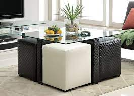 coffee table with stools wild country