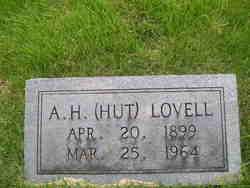 """Albert Hutcheson """"Hut"""" Lovell (1899-1964) - Find A Grave Memorial"""
