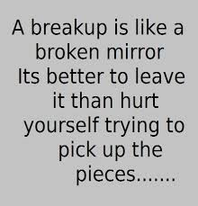Relationship Break Up Quotes Simple Breakup Quotes Similes Metaphors Pinterest