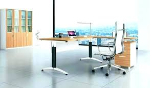 Modern Glass Office Desk Contemporary Glass Desk Modern Home Office