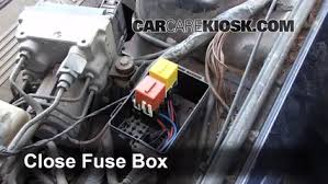 blown fuse check 1990 1995 bmw 540i 1995 bmw 540i 4 0l v8 6 replace cover secure the cover and test component