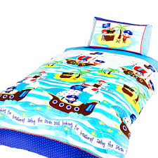 ship ahoy childrens boys single duvet cover bedding set