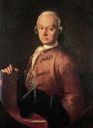 Моцарт Вольфганг Амадей Википедия Леопольд Моцарт Портрет работы Пьетро Антонио Лоренцони