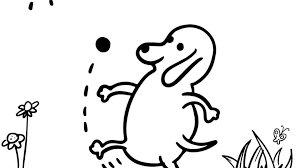 Five dogs in a funny dog coloring page. 6 Printable Dog Coloring Pages For The Whole Family The Dog People By Rover Com