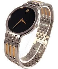 1195 mens movado esperanza sapphire crystal two tone bracelet 1195 mens movado esperanza sapphire crystal two tone bracelet watch 0606044 nwt