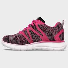 skechers running shoes for girls. girls\u0027 s sport by skechers adalie performance athletic shoes - pink skechers running for girls