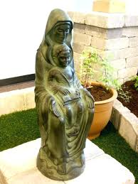 outdoor mary garden statue garden statue grotto medium size of garden garden statues mother of images