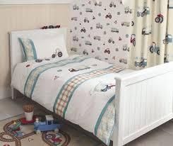 laura ashley tractors and trucks single bedding sets x2
