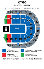 Royal Arena Seating Chart Cant Wait It Not Sure Exactly Where Seat Will Be