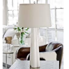 Regina Andrew Design Alabaster Quatrefoil Lamp