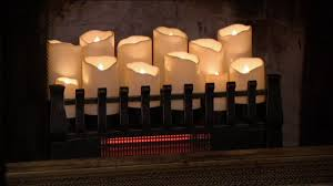 charming decoration fireplace candle insert duraflame infrared quartz heater fireplace insert on qvc you