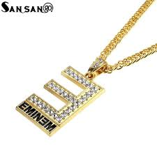 whole trendy alloy gold color letter e pendant necklace woman men fashion hip hop style long chain necklace jewelry gift silver necklace chain heart