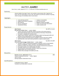 11 Teachers Cv Format Phoenix Officeaz