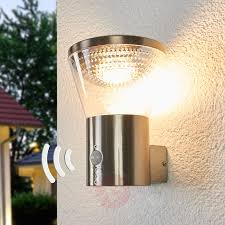 led outdoor wall lights with motion sensor hampton bay black