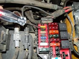 sparky's answers 1998 ford crown victoria, blows 2 fuse, no 2003 Crown Victoria Fuse Box this 1998 ford crown victoria came in with the complaint that the 2 fuse in the underhood fuse box will blow while going down the road 2003 crown victoria fuse box