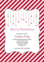 printable christmas party invitations printable party invitation template