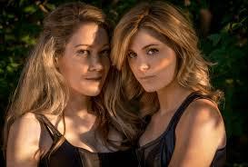 Gorgeous babes lesbian escapade