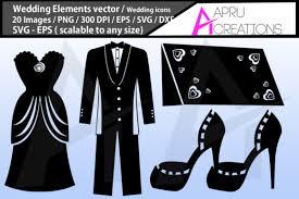 Wedding Silhouette Graphic By Aparnastjp Creative Fabrica