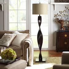 Pier One Living Room Brown Twist Floor Lamp Floor Lamps Brown And Twists