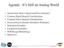 Signal Integrity In Pcb Design Ppt Ppt Its Still An Analog World Signal And Power Integrity