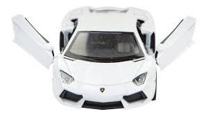 aventador white. lamborghini aventador lp700 4 scale model 138 white