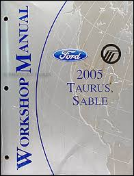 ford taurus mercury sable wiring diagrams manual original 2005 ford taurus mercury sable repair shop manual original 134 00