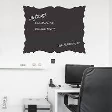 chalkboard office. Baroque Chalkboard Wall Stickers Office