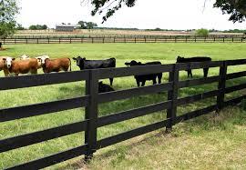 Farm fence Backyard Ranch Fence Corral Board Rail Fence Stained Black Georgetown Austerra Acreage Fences Farm Ranch Garden Austerra Fence Gate