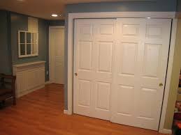 short closet doors small linen space menards