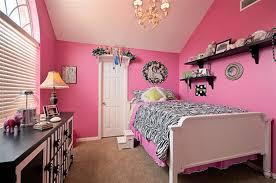 Cool Image Of Pink Zebra Bedroom Design And Decoration : Contemporary Teen  Girl Pink Zebra Bedroom