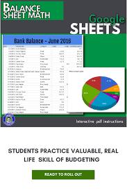 google sheets balance sheet google sheets balance sheet lesson pinterest balance sheet