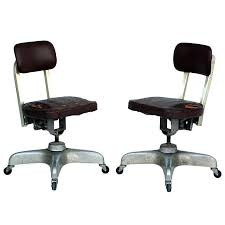 industrial office chairs. Industrial Office Chair Pair Of Aged Swivel Chairs For Sale Style Furniture G