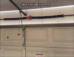 garage door torsion spring replacement cost
