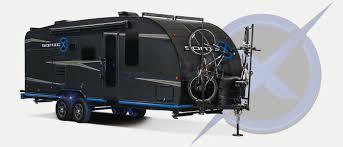2019 venture rv sonic x sn220vrb travel trailer exterior
