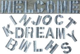 metal letters corrugated metal letters large metal letters for wall decor