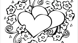 Heart Coloring Pages For Adults Pdf Printable Coloring Page For Kids