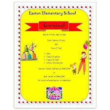 Free School Open House Flyer Template Templates Carnival 4