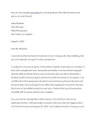 Cover Letter For Applications Journalism Advice How To Write A