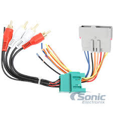 scosche fdk7b factory amplifier retention wiring harness for Scosche Wiring Harness 87 Camaro factory amplifier retention wiring harness for select ford vehicles