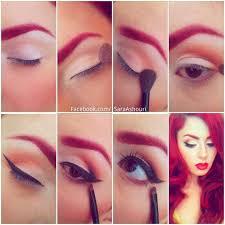 smokey pin up makeup