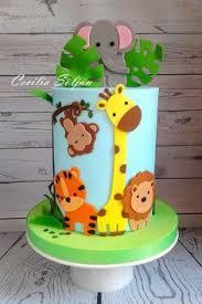 74 Awesome Animal Birthday Cakes Images Birthday Cakes Fondant