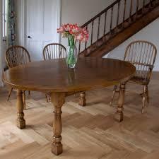 handmade oak dining room tables. english oval oak dining table \u0026 windsor stickback chairs handmade room tables