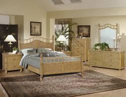wicker bedroom furniture sets
